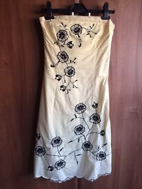 Jane Norman strapless dress and cardigan for sale
