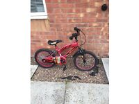 Child's bike (Iron Man)