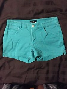Teal shorts- size small / size 4