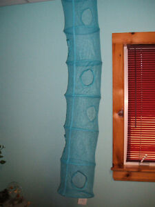 Two turquoise mesh hanging toy hampers, 6 levels - NEW Sarnia Sarnia Area image 1