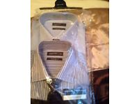 Men's set of two shirts with matching tie size 16 in neck £12.00
