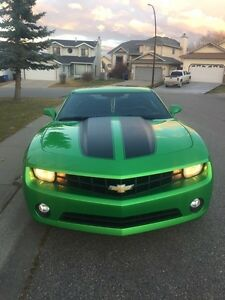 2011 Synergy Green Camaro 1LT Coupe
