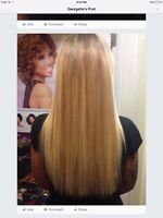 Hair extension /fusion and micro loop SPECAIL $295