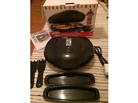 George foreman lean mean fat grilling machine (new)