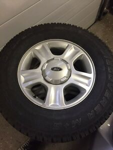 Ford Escape winter tires