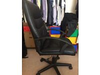 High back study/office chair