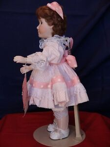 Meggan's Collectors Canadian Procelain Handmade Doll Partytime London Ontario image 5