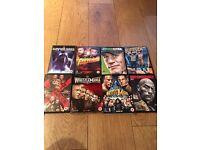 Wrestling DVDs bundle
