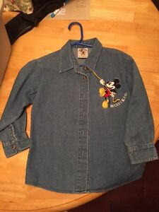 Disney Denim Mickey & Co Shirt