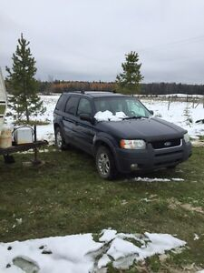 2003 Ford Escape 4x4