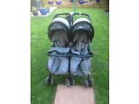 "Double pushchair by "" Combi"""