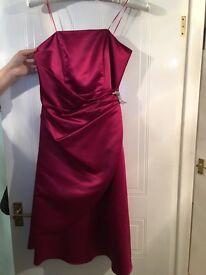 Women's bridesmaid dresses - UK size 12 & 14