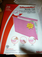 NEW Pendaflex Ready Tab Pink Hanging Files