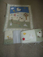 Farm Theme Crib Bedding Set