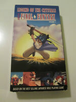 Legend of the Crystals vol.1 - Based on Final Fantasy - VHS