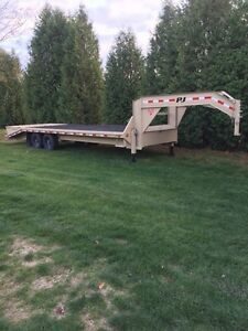 NEW PJ  GOOSENECK TRAILER  swap for car
