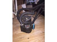 Very heavy duty SIP dirty water sump and submersible pump 200l/min