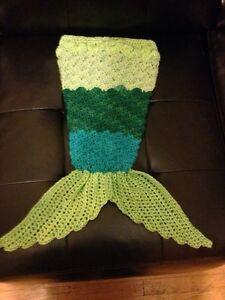 Mermaid tail blanket/photo prop Windsor Region Ontario image 1