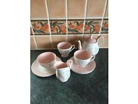 Queen Anne 'Glade' Bone China tea set