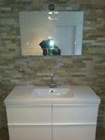 Rénovation de cuisine et salle de bain / Finition de sous-sol