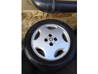 REDUCED* Vauxhall Cav Slabs Alloys (corsa, vw, astra) 15 inch