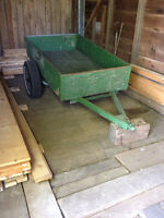 Utility or Bush Trailer in my Barn