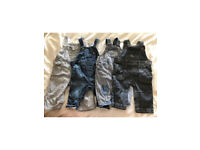 Baby dungarees 3-6 months Next/monsoon/mini club