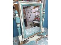 Shabby chic dressing table mirror (2 available)