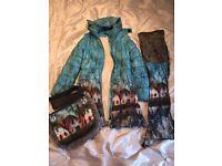 Girls Jottum goat, scarf and bag