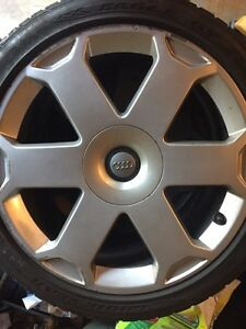 Audi S4 wheels and tires