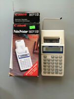 Canon Palm Printer with paper tape