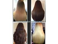 Fully Qualified Hair Extensionist with 11 years experience. 100% Human remy hair Extensions