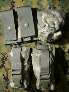 ACU MOLLE II 1-Double 40mm, 2-Flash Bang, 2-Hand Grenade Pouches