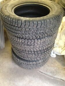 4 winter studded tires  205 65 R 15