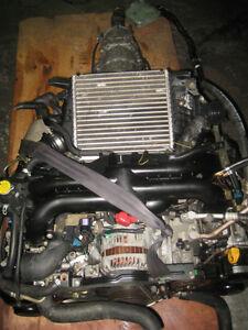 04 05 SUBARU LEGACY EJ20 2.0L TURBO ENGINE AUTO TRANS JDM EJ20