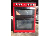 electric Oven with 4 ceramic hobs