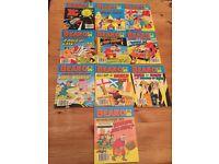 BEANO Comic Library variety from No.s 26- 250