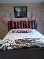 One furnished bedroom in a beautyful town house for rent