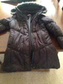 5-6 girls winter coat