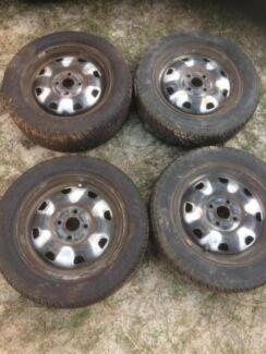 Tyres 185/60/14 x4 80% tread