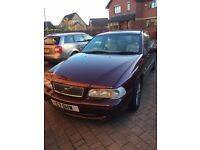 Volvo C70, private reg valued at £700 included, spares or repair