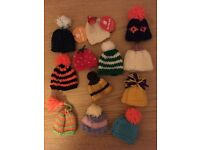 12 Innocent Smoothie Big Knit hats (collectible)