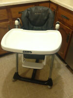 leather high chair