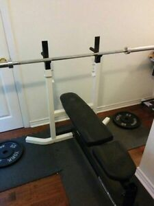 Bench press northern lights with weights