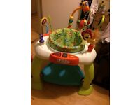 Unisex sit in play gym