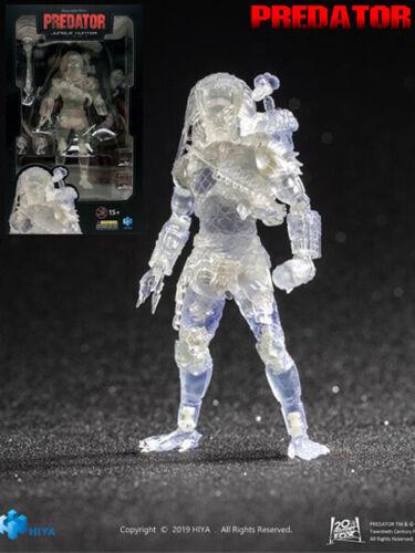 Hiya Toys Predator Invisible Jungle Hunter Predator 1:18 Scale Action Figure New
