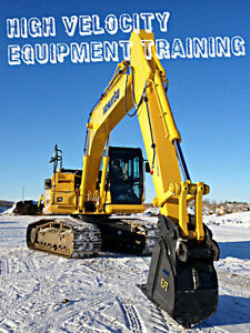 Interested in Heavy Equipment ? Come get certified with us ! Edmonton Edmonton Area image 3