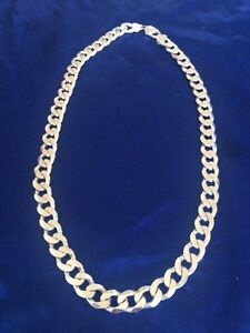 "Mens Sterling silver chain  22""  925 Italy Kitchener / Waterloo Kitchener Area image 1"