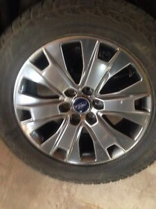 Ford F1 50 tires and rims