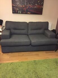 DFS Sofa, with Cushions and Carpet